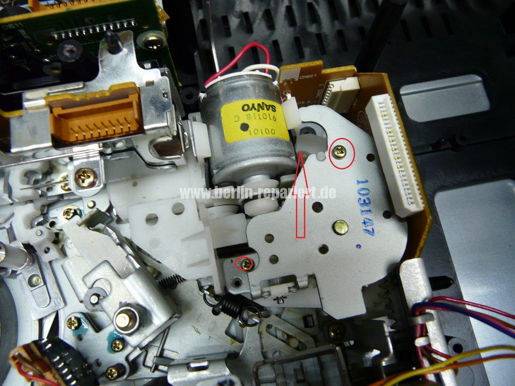 Siemens FM701, Laufwerk blockiert (4)