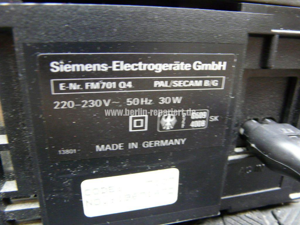 Siemens FM701, Laufwerk blockiert (6)