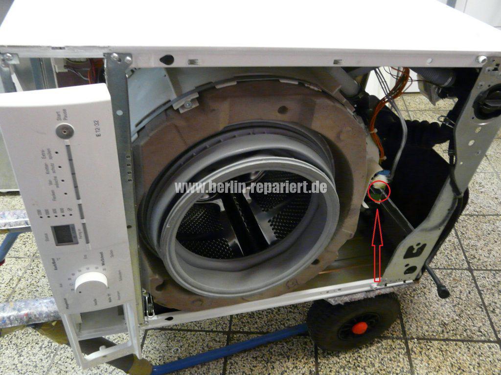 Siemens WM14E320, Wasser kocht (1)