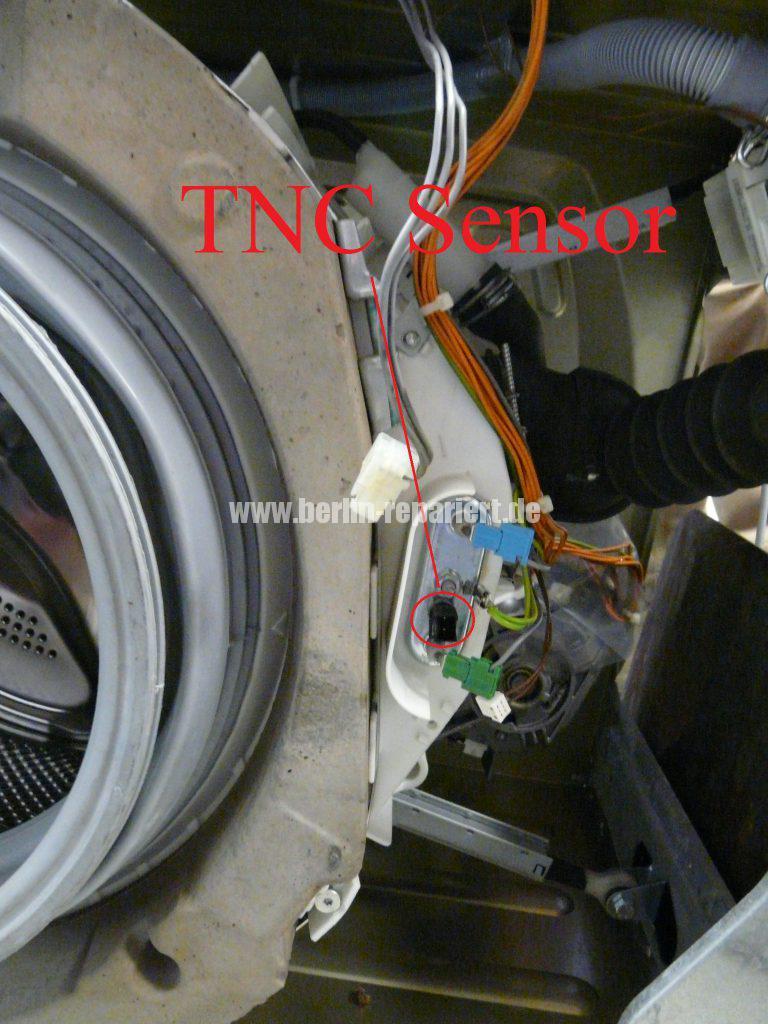 Siemens WM14E320, Wasser kocht (2)