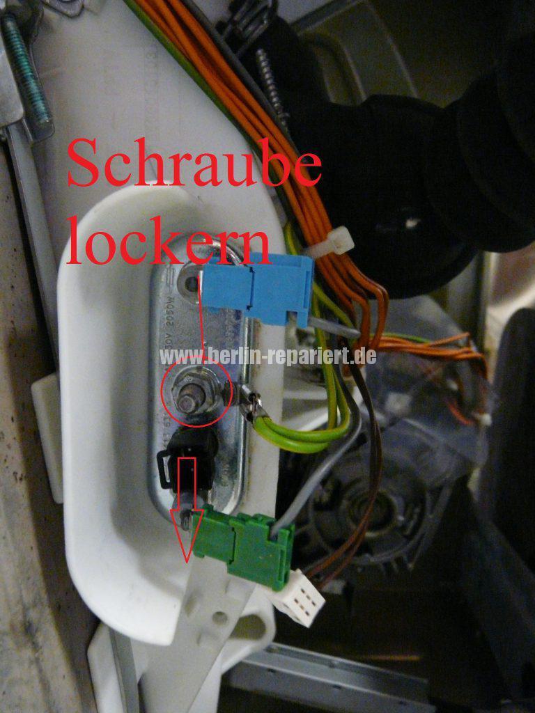Siemens WM14E320, Wasser kocht (3)