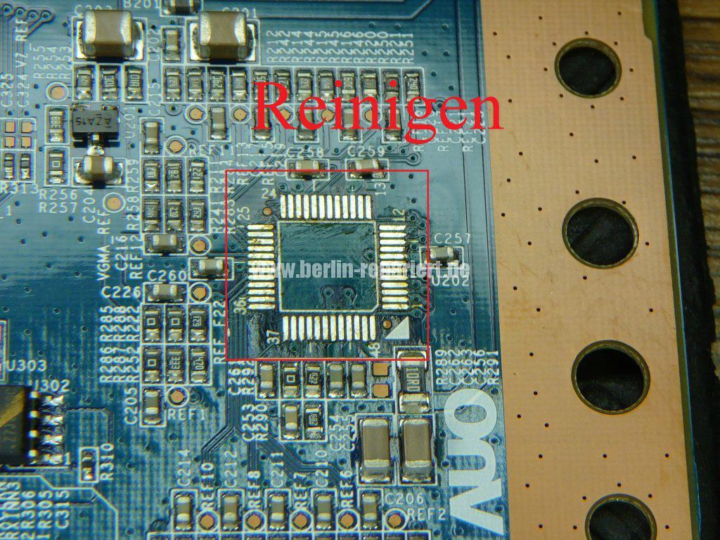 Sony KDL-37V4500 E, Bild Solarisiert, falsche Farben (7)