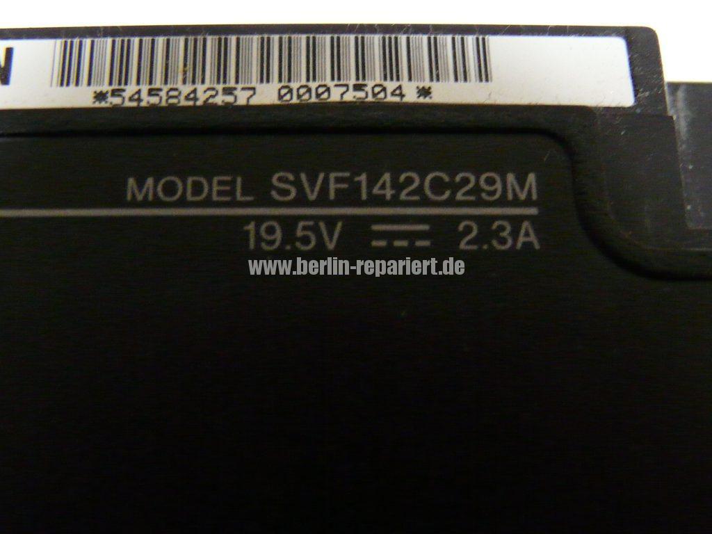 Sony SVF142C29M, 4 mal Bild (5)