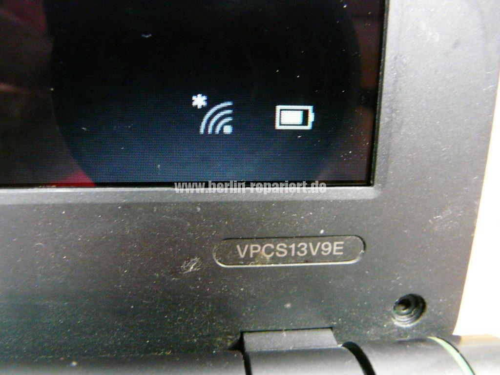 Sony VPCS13V9E, Streifen in Bild (6)