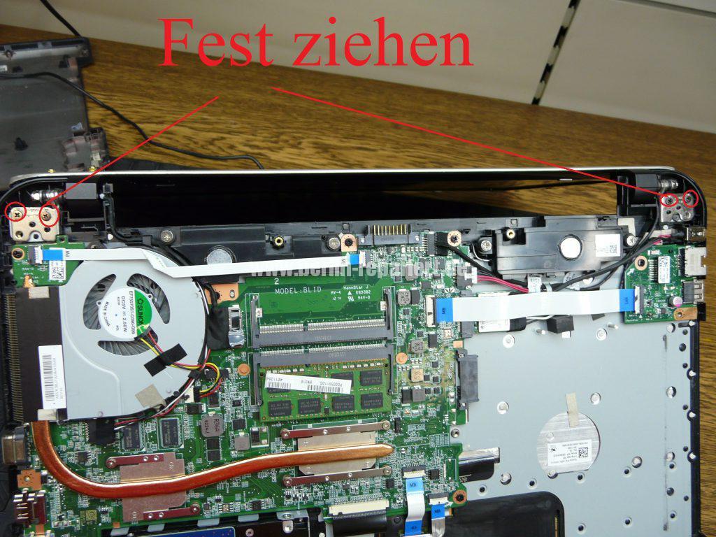 Toshiba Satellite L50-B-182, Scharniere defekt, Startet schwer (9)