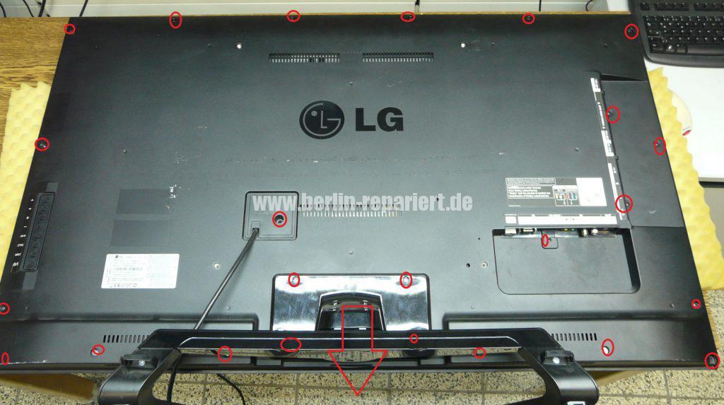 LG 47LM640S, nur noch LG Logo sichtbar (2)