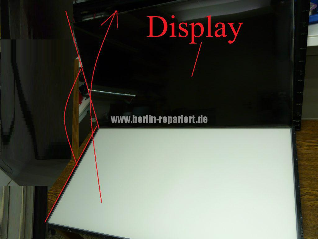 LG Display LC420EUD, Rauch hinter der Display (1)