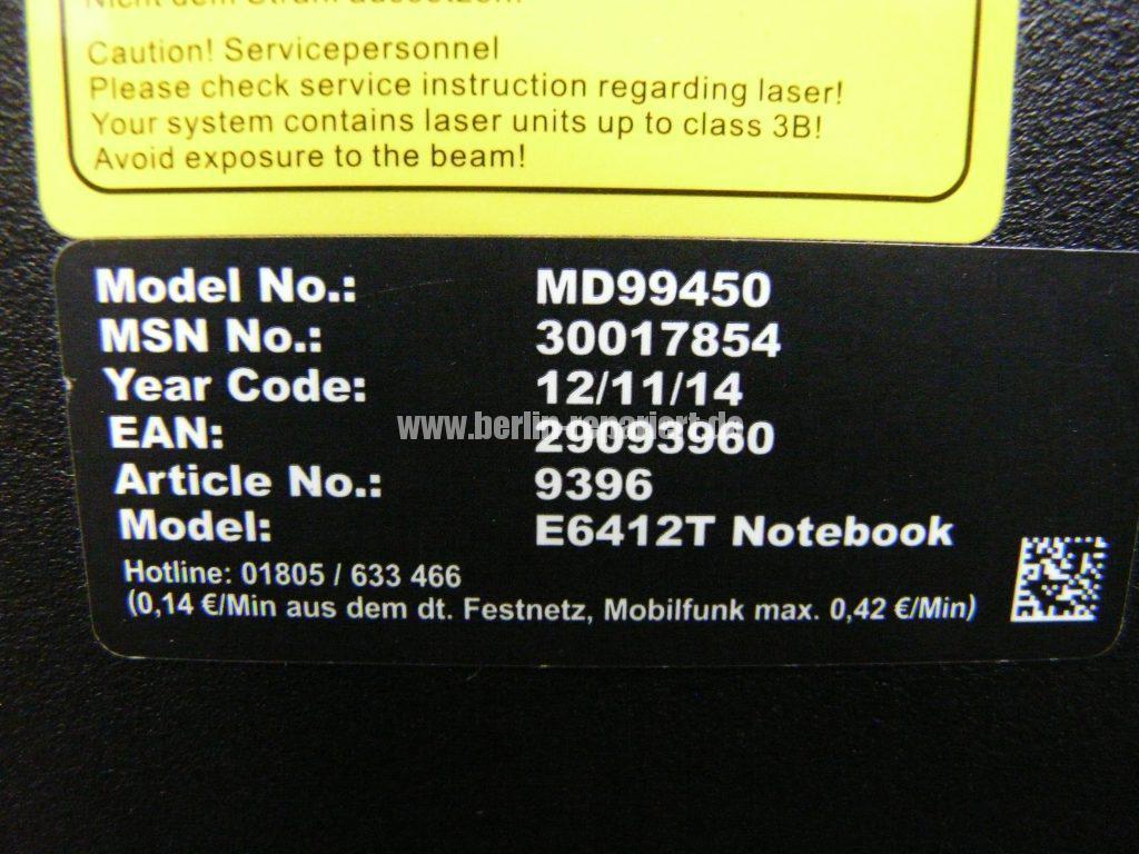Medion Akoya E6412T, Digitizer geplatzt, Digitizer ausbauen (11)