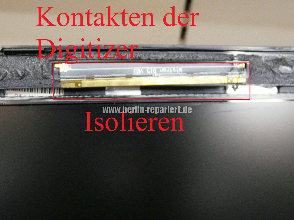 Medion Akoya E6412T, Digitizer geplatzt, Digitizer ausbauen (9)