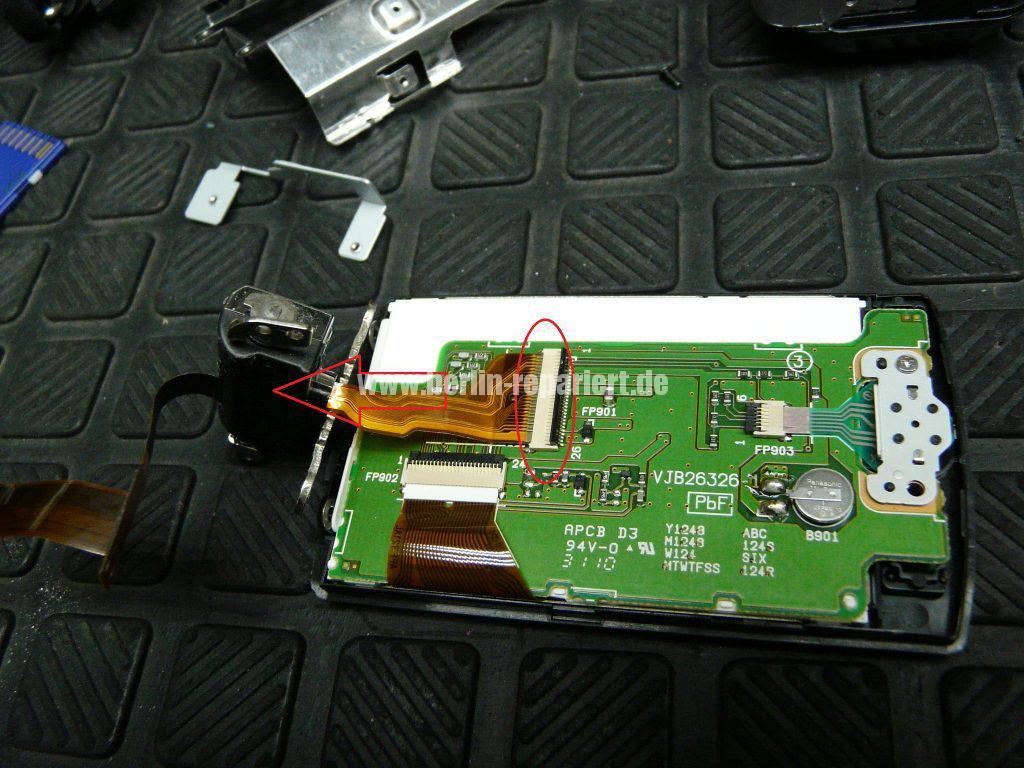 Panasonic SDR-H85, kein Displayanzeige (10)