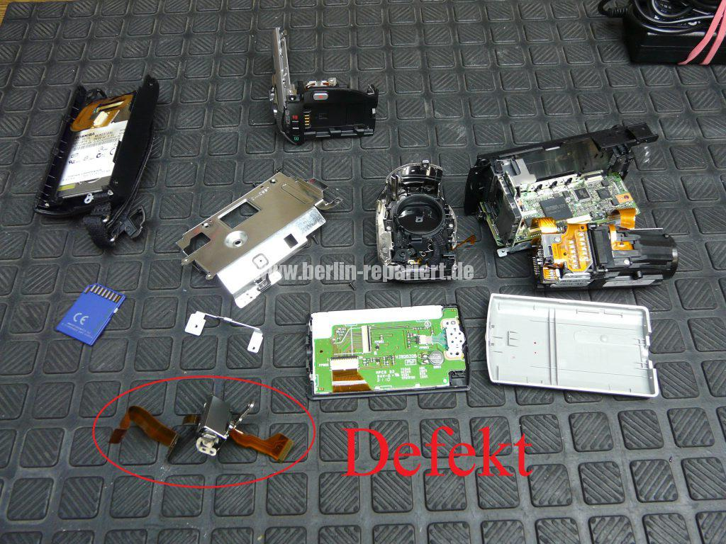 Panasonic SDR-H85, kein Displayanzeige (12)