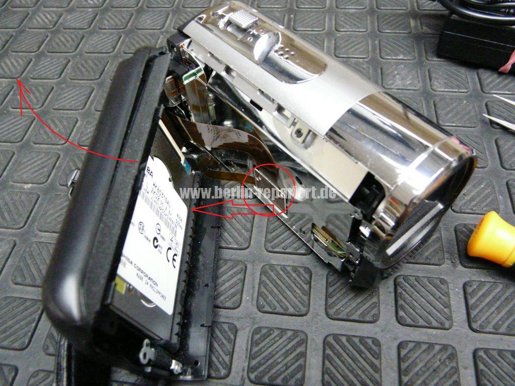 Panasonic SDR-H85, kein Displayanzeige (2)