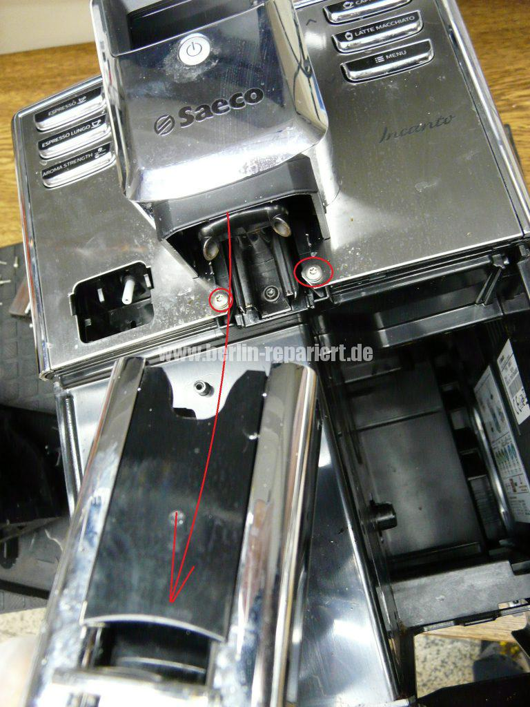 saeco-incanto-hd8917-mahlwerk-defekt-mahlt-nicht-mehr-3