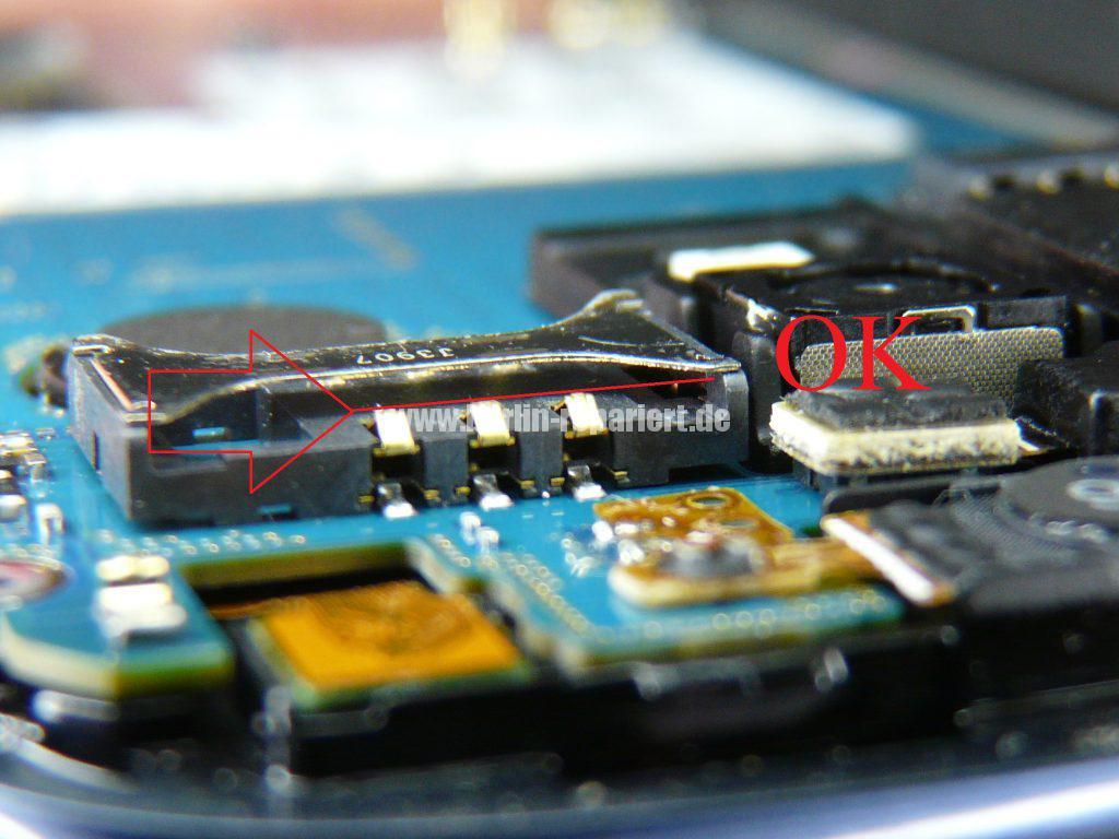 Samsung Galaxy 3 Mini  GT-i8190, SIM Karte setzt aus (4)