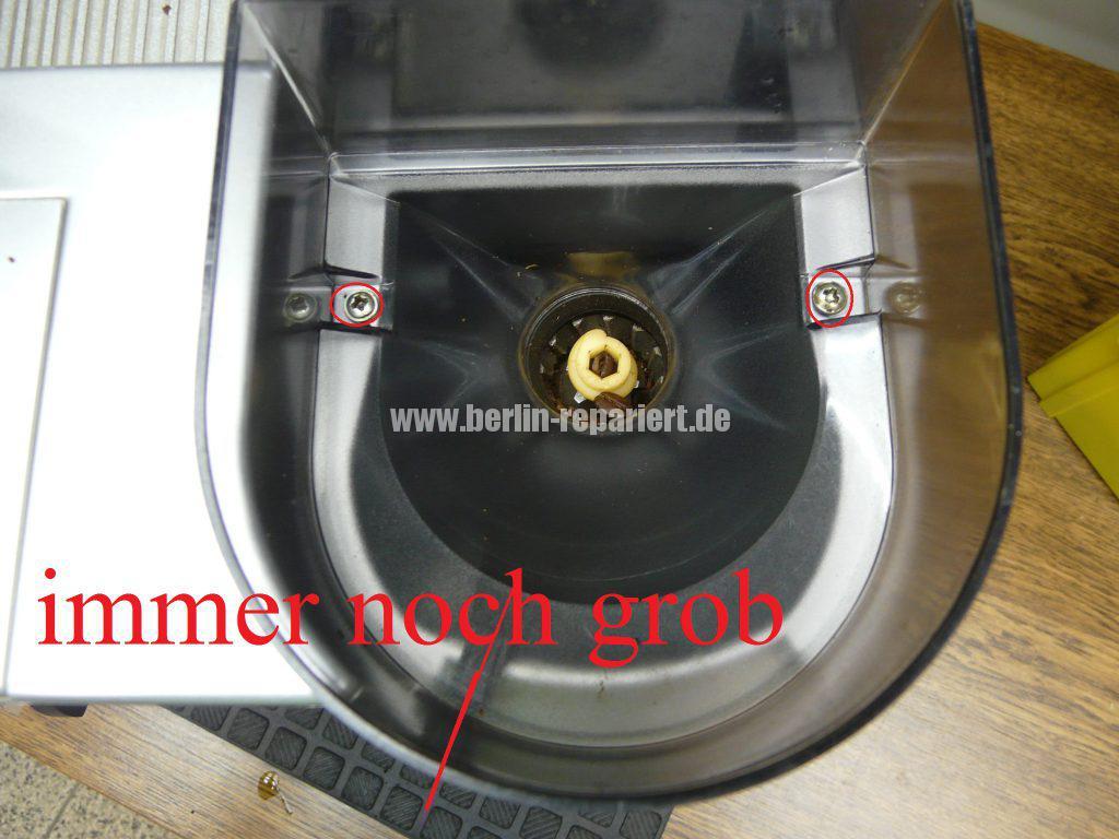 saeco-roal-cappuccino-mahlwerk-falsch-justiert-mahlwerk-einstellen-4