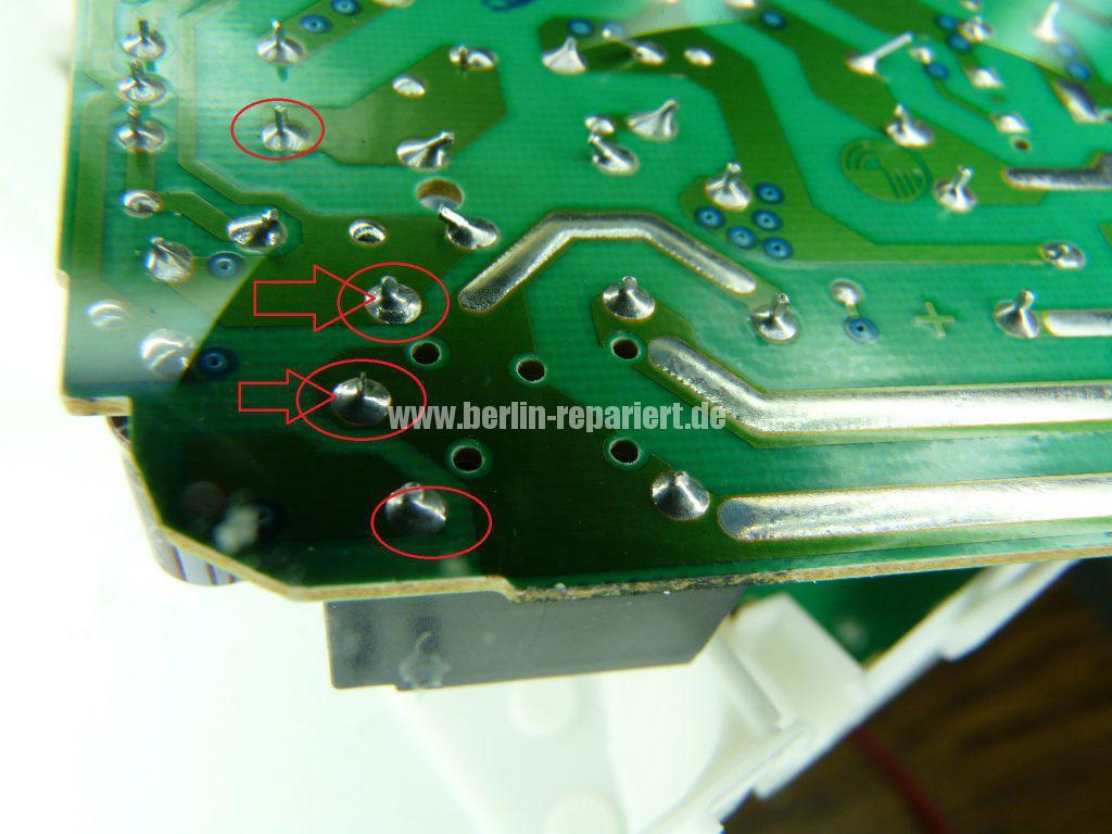 Bevorzugt Elektrolux AEG Privileg 111595035, Geschirrspüler heizt nicht ER98