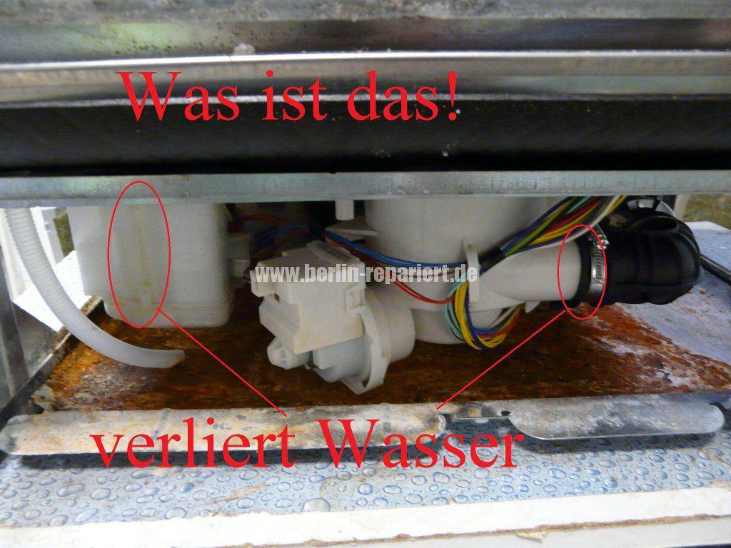 Berühmt Privileg PDSF 5232/1 S, verliert Wasser, Display zeigt an erst E1 GT67