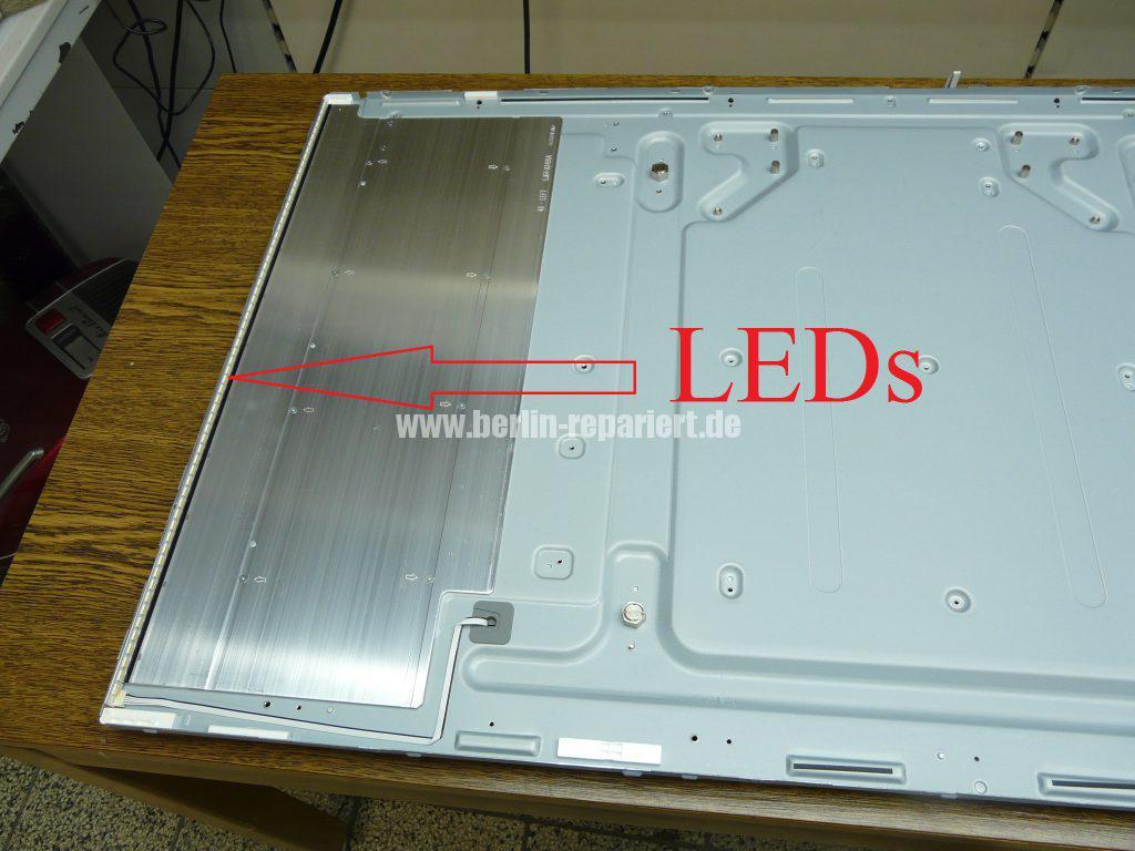 LED Streifen, Hintergrundbeleuchtung defekt, LED Defekt, Samsung ...
