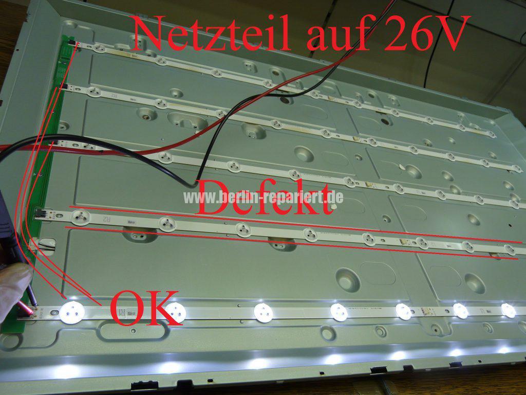 Verwonderlijk LG 42LN5708, kein Bild nur Ton, Bild sehr dunkel, LED Streifen KF-85