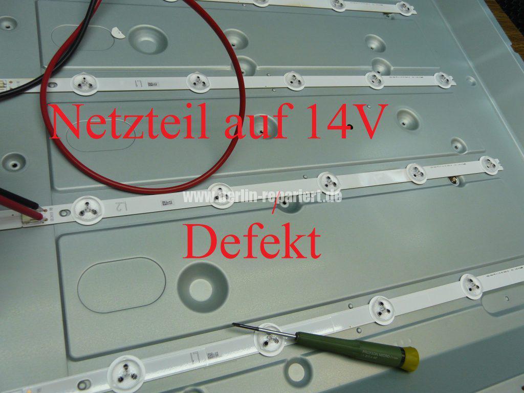 Spiksplinternieuw LG 42LN5708, kein Bild nur Ton, Bild sehr dunkel, LED Streifen GE-99
