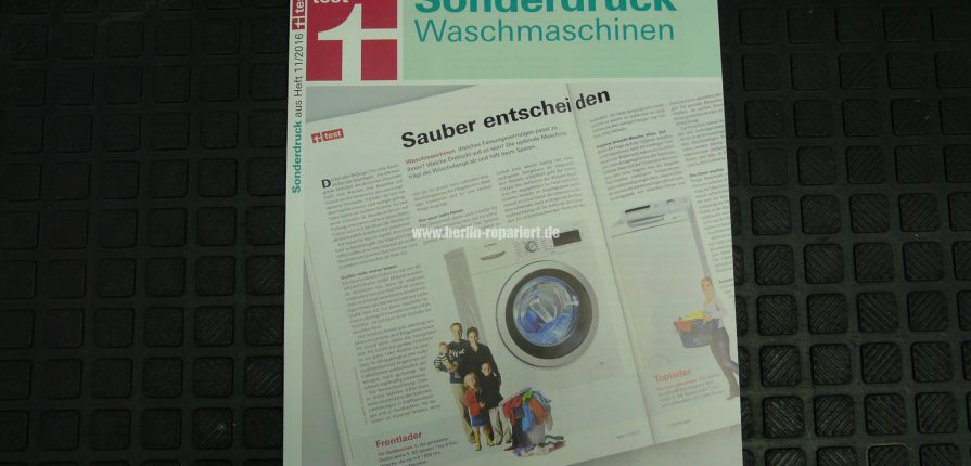 stiftung warentest sonderdruck waschmaschinen nov 2016. Black Bedroom Furniture Sets. Home Design Ideas