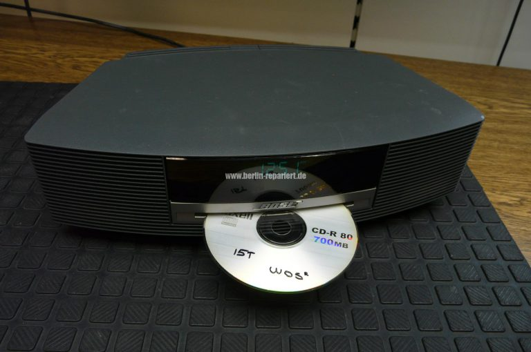 Bose wave music system nimmt kein cd u leon´s