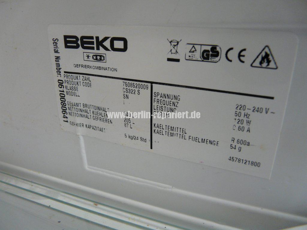 beko cs322 cs322s k hlt nicht mehr leon s blog. Black Bedroom Furniture Sets. Home Design Ideas