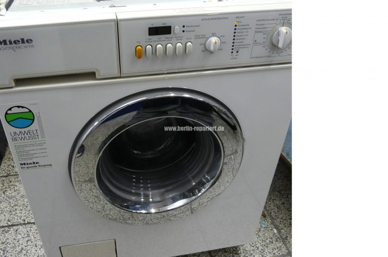 Miele w 916 nimmt kein waschpulver zieht nicht genug wasser wenig