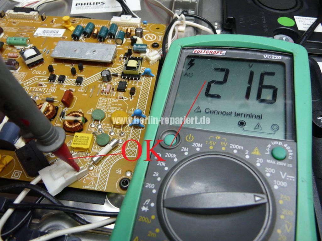 Philips 32pfl7606k Geht Nicht An We Repair Wir Reparieren