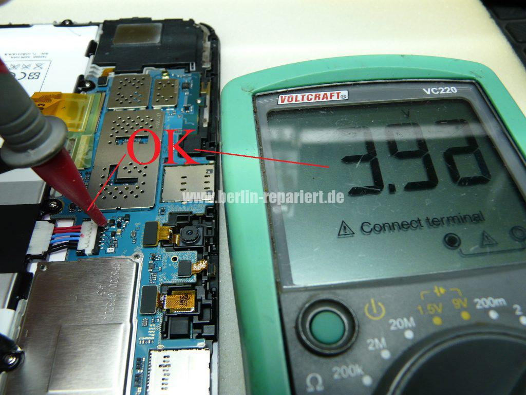 Samsung Galaxy Tab GT-P5200 Akku wird nicht geladen Akku ...