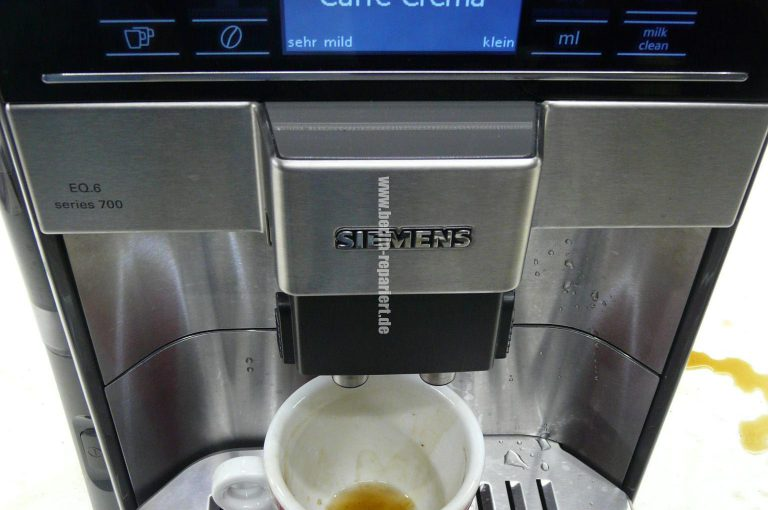 siemens eq6 series 700 sp lt nicht kein kaffee wasser in. Black Bedroom Furniture Sets. Home Design Ideas