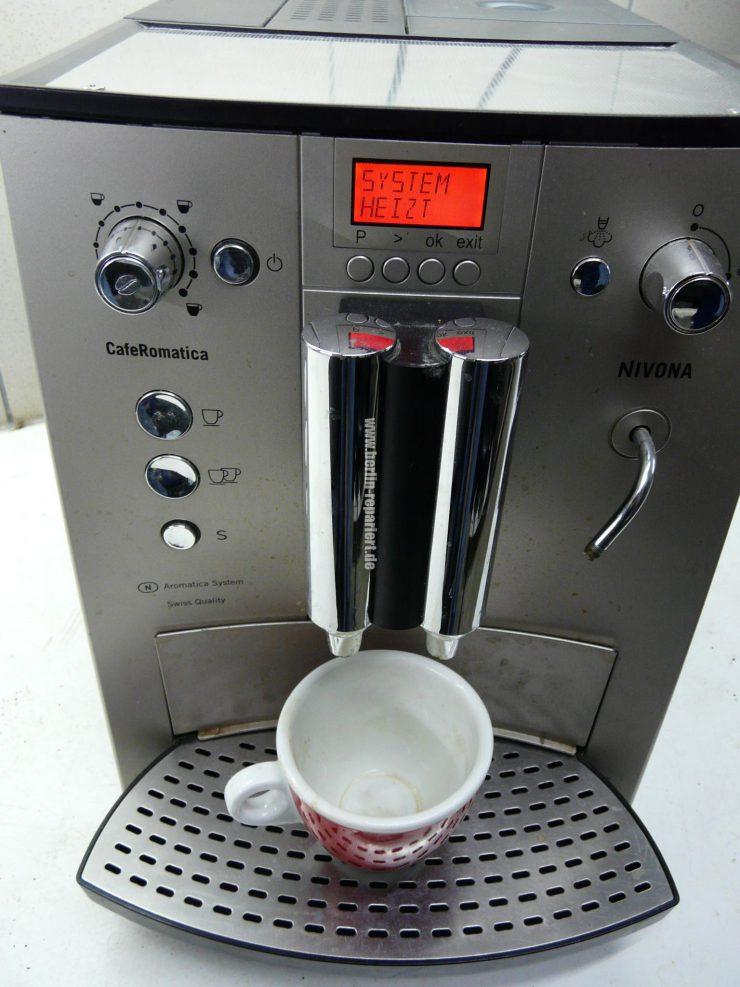 nivona zu wenig kaffee zu viel wasser in der abtropfschale leon s blog. Black Bedroom Furniture Sets. Home Design Ideas