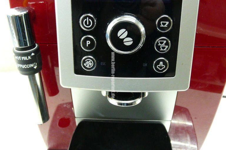 Delonghi Kaffeemaschine Mahlwerk Einstellen : Delonghi ecam23.427.r spült nicht u201czu fein gemahlen mahlwerk