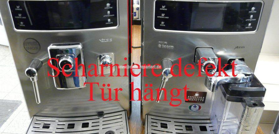 Saeco Xelsis Tur Klemmt Scharniere Defekt We Repair Wir Reparieren