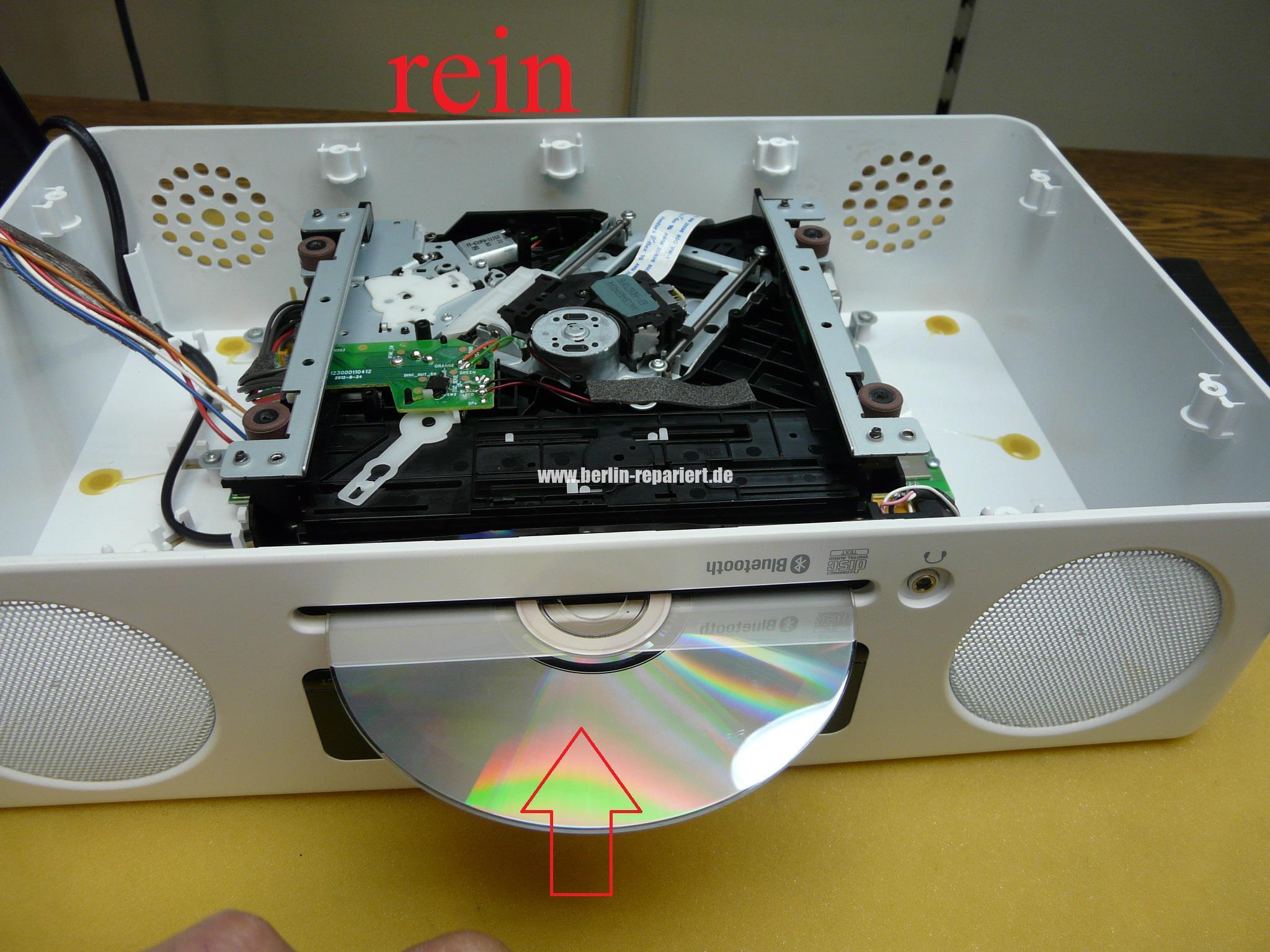 yamaha tsx b235 cd blockiert kommt nicht mehr raus motor ger usche atlas multimedia we repair
