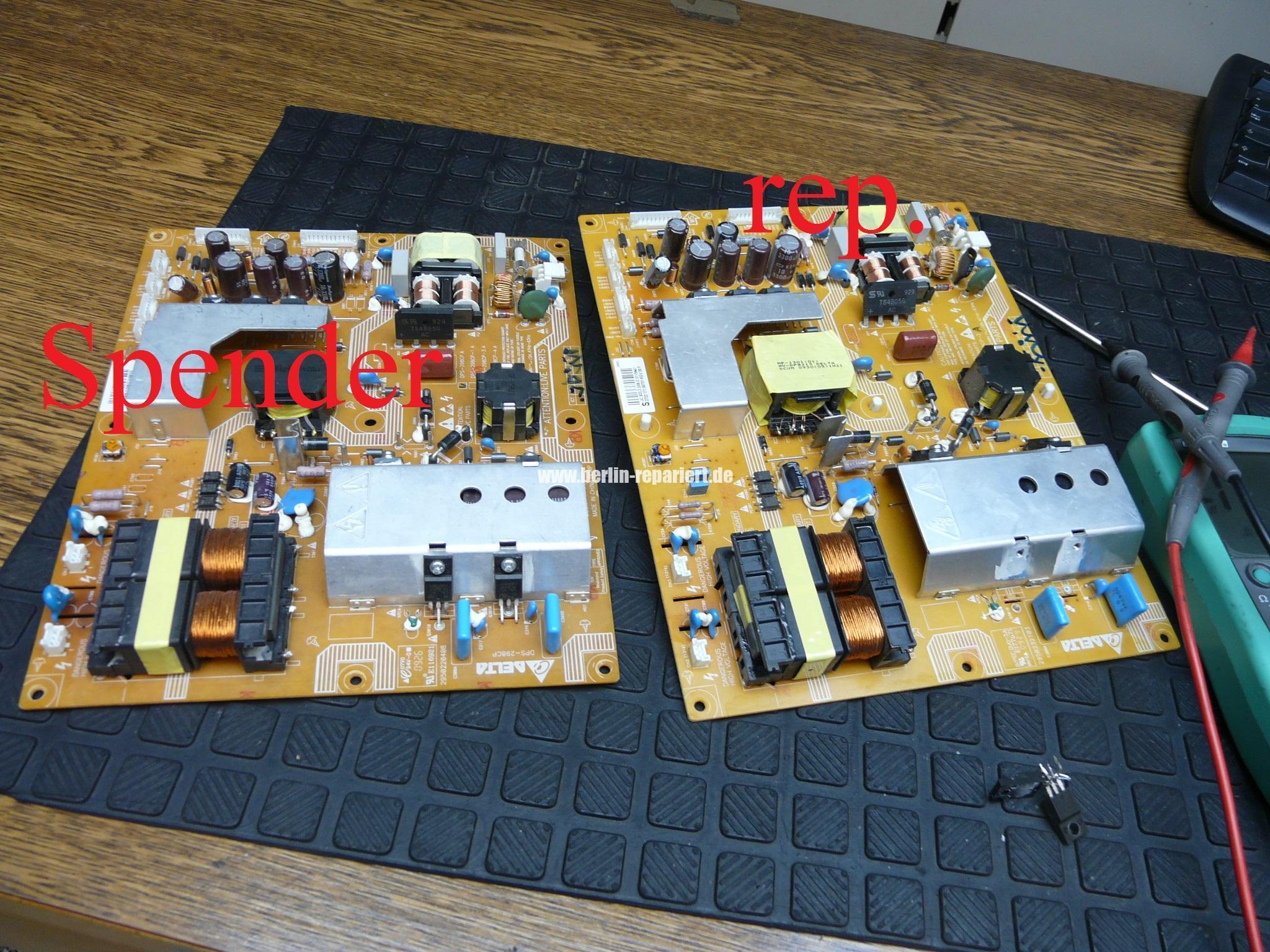 Großzügig Computer Netzteil Reparatur Fotos - Elektrische Schaltplan ...