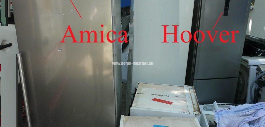 Amica Vs. Hoover Kühlschränke im Rennen – Leon´s Blog