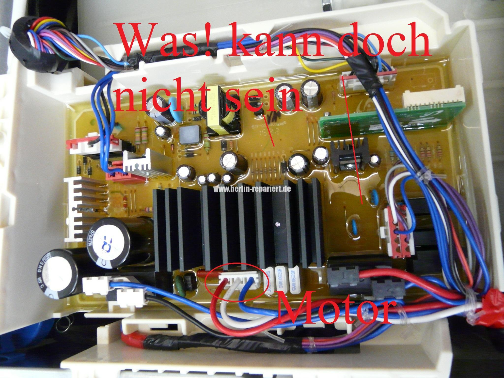 Samsung Qualitat Finger Weg Von Samsung Wf72f5e5p4w Motor Dreht