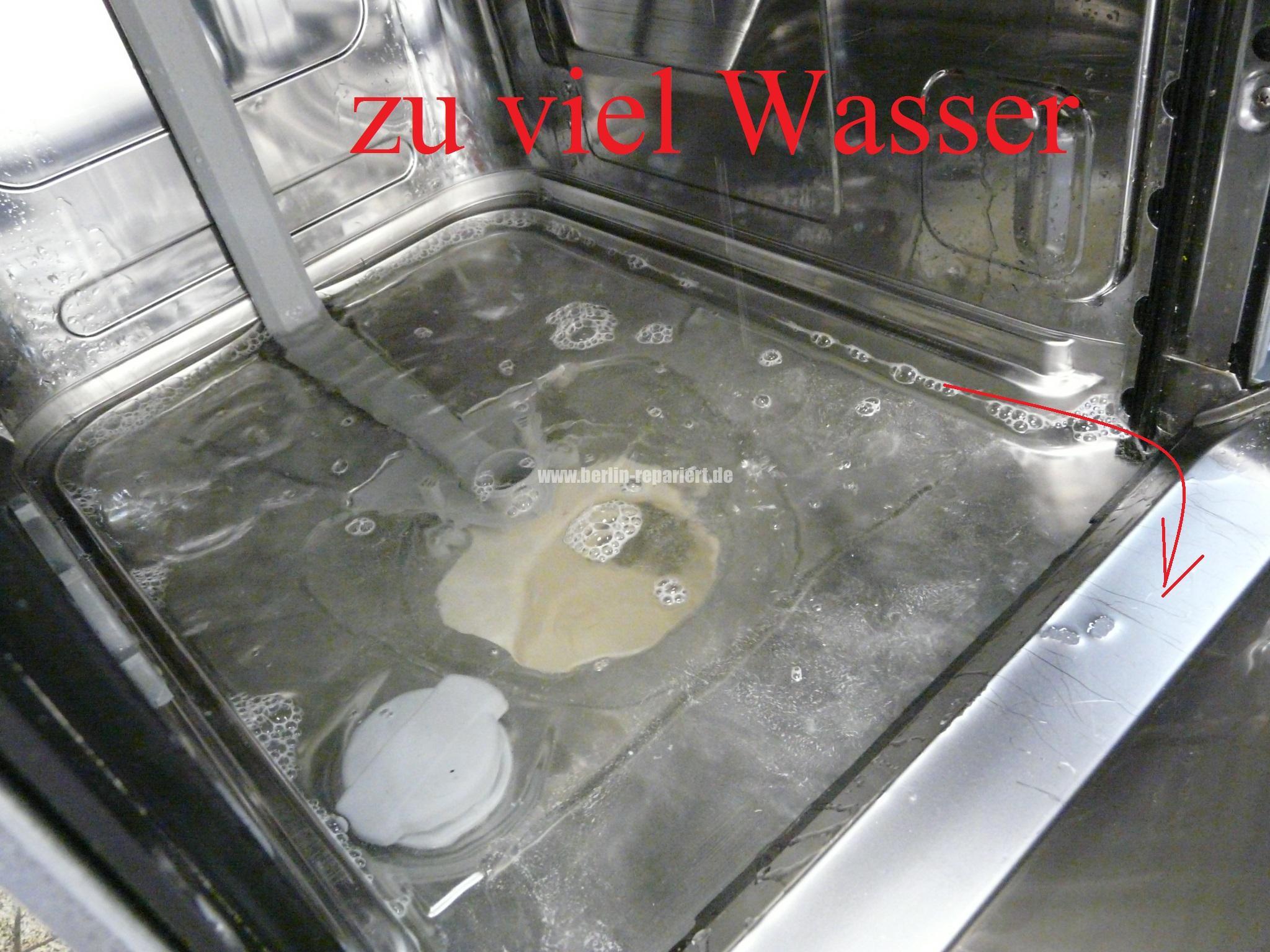 Fabulous Ikea Geschirrspüler reparieren 102.22425, zieht zu viel Wasser ZL22