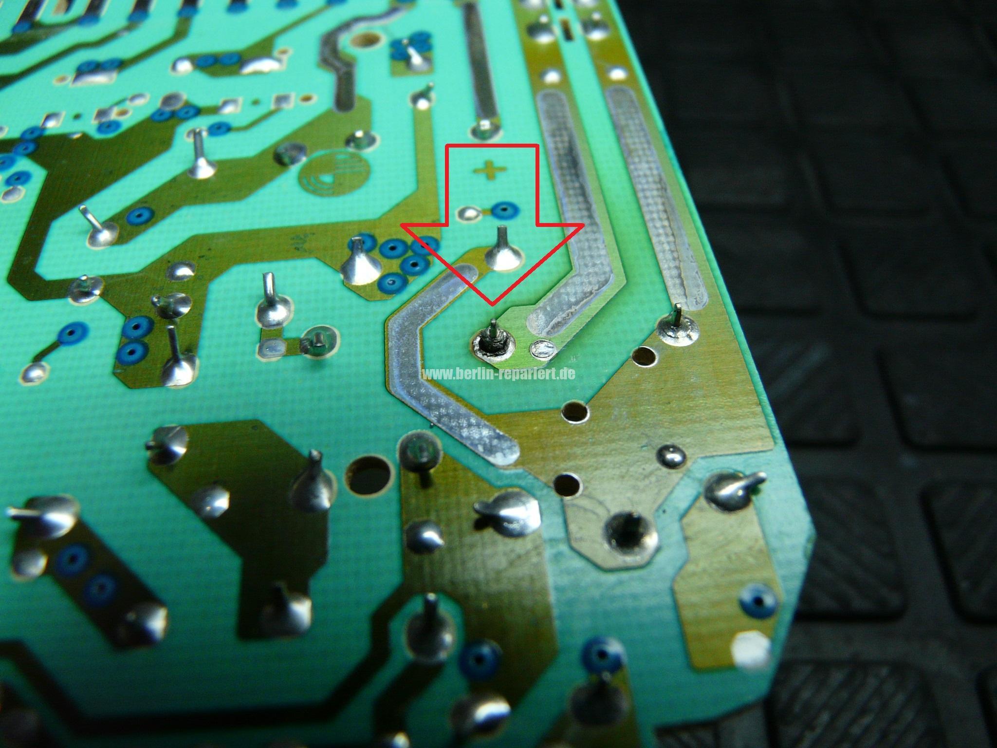 Hervorragend AEG Geschirrspüler heizt nicht Elektronik reparieren, AEG F6050VI BF66