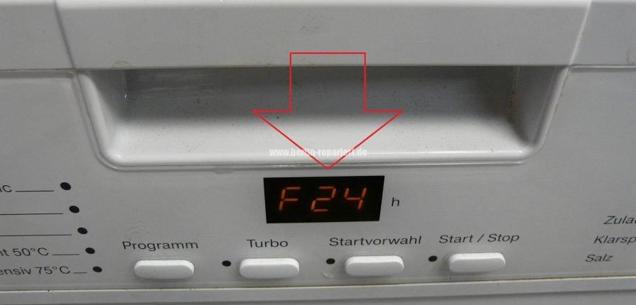 Ongekend Miele G 4203 SC Fehler F24, Miele G 4220 U Fehler F24 verliert AM-34