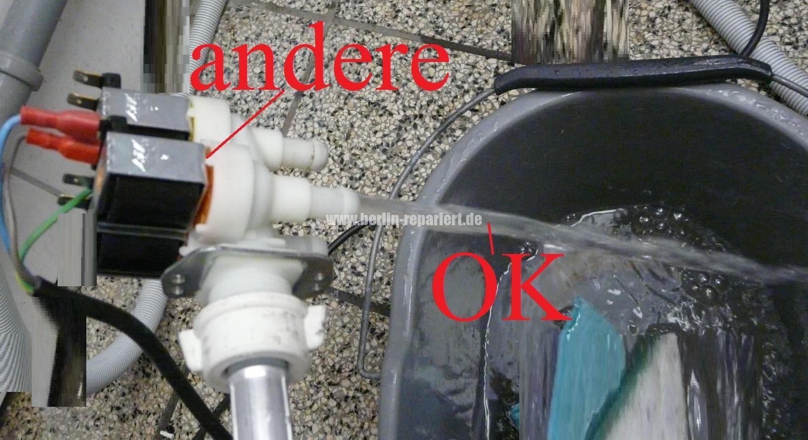 Miele Novotronic W986 Fehlermeldung Zulauf Prufen Zieht Kein Wasser