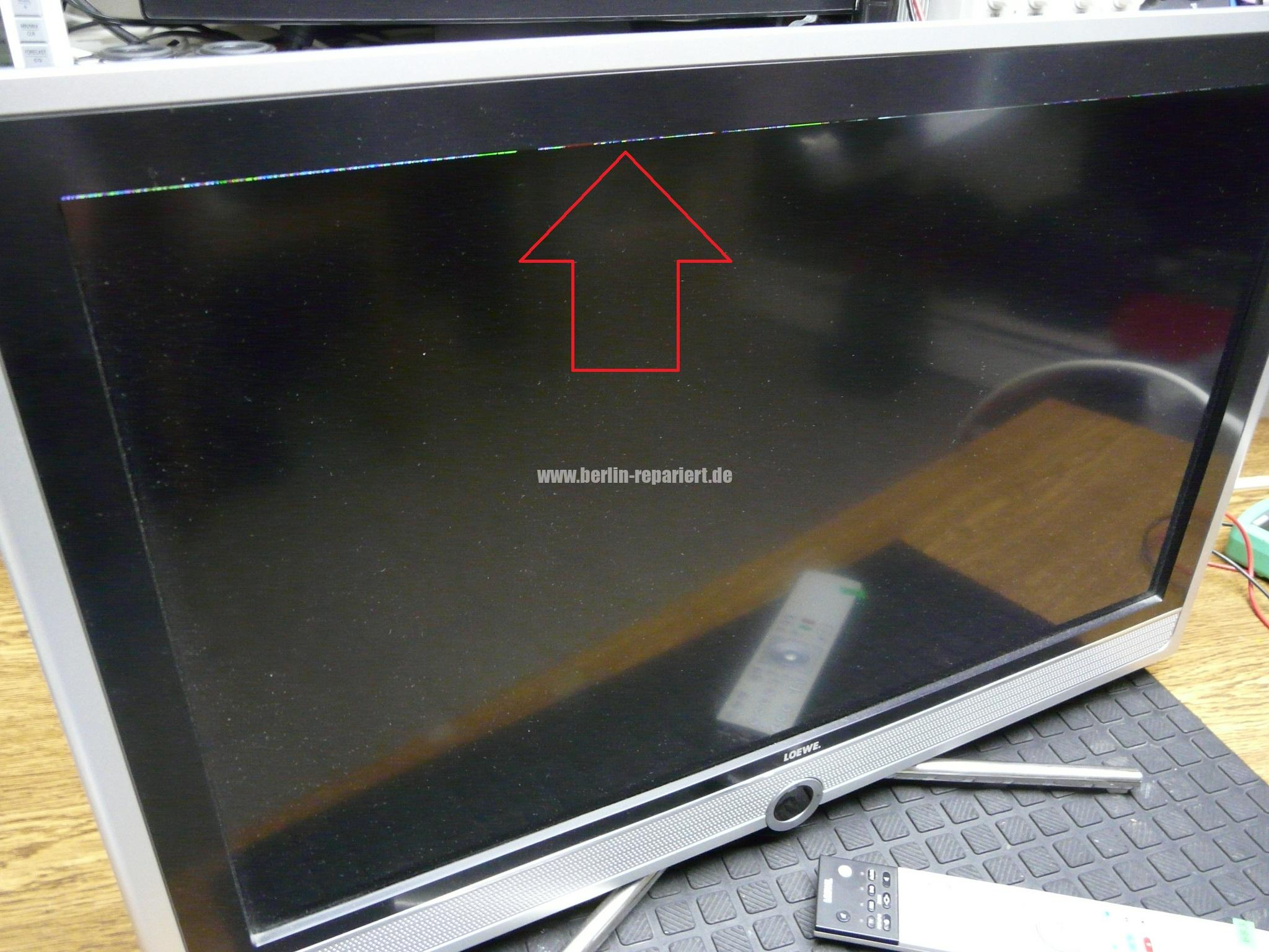 loewe connect 26 sl bild als streifen sichtbar kein bild nur ton leon s blog. Black Bedroom Furniture Sets. Home Design Ideas