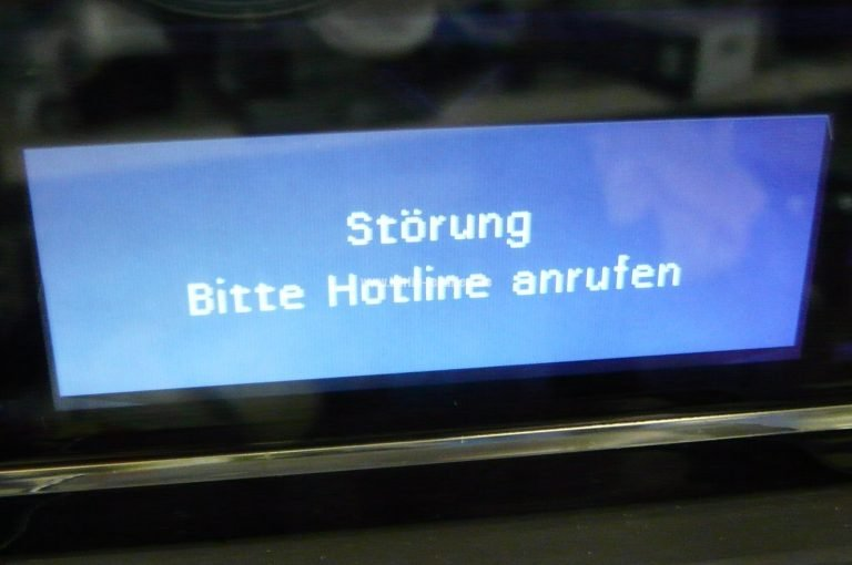 Siemens Kühlschrank Hotline : Siemens eq series störung bitte hotline anrufen u we repair
