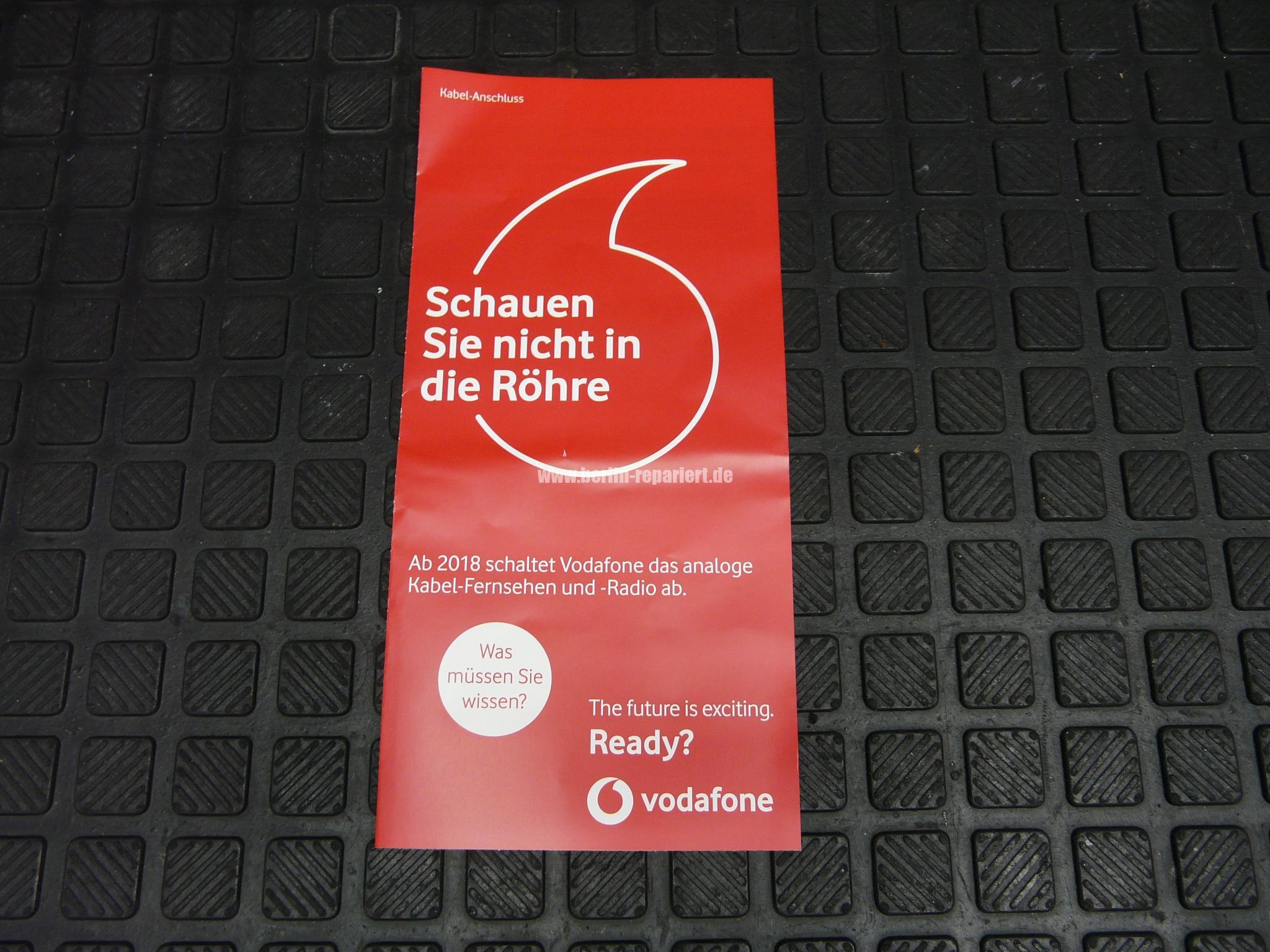 Vodafone Schaltet Analog Ab
