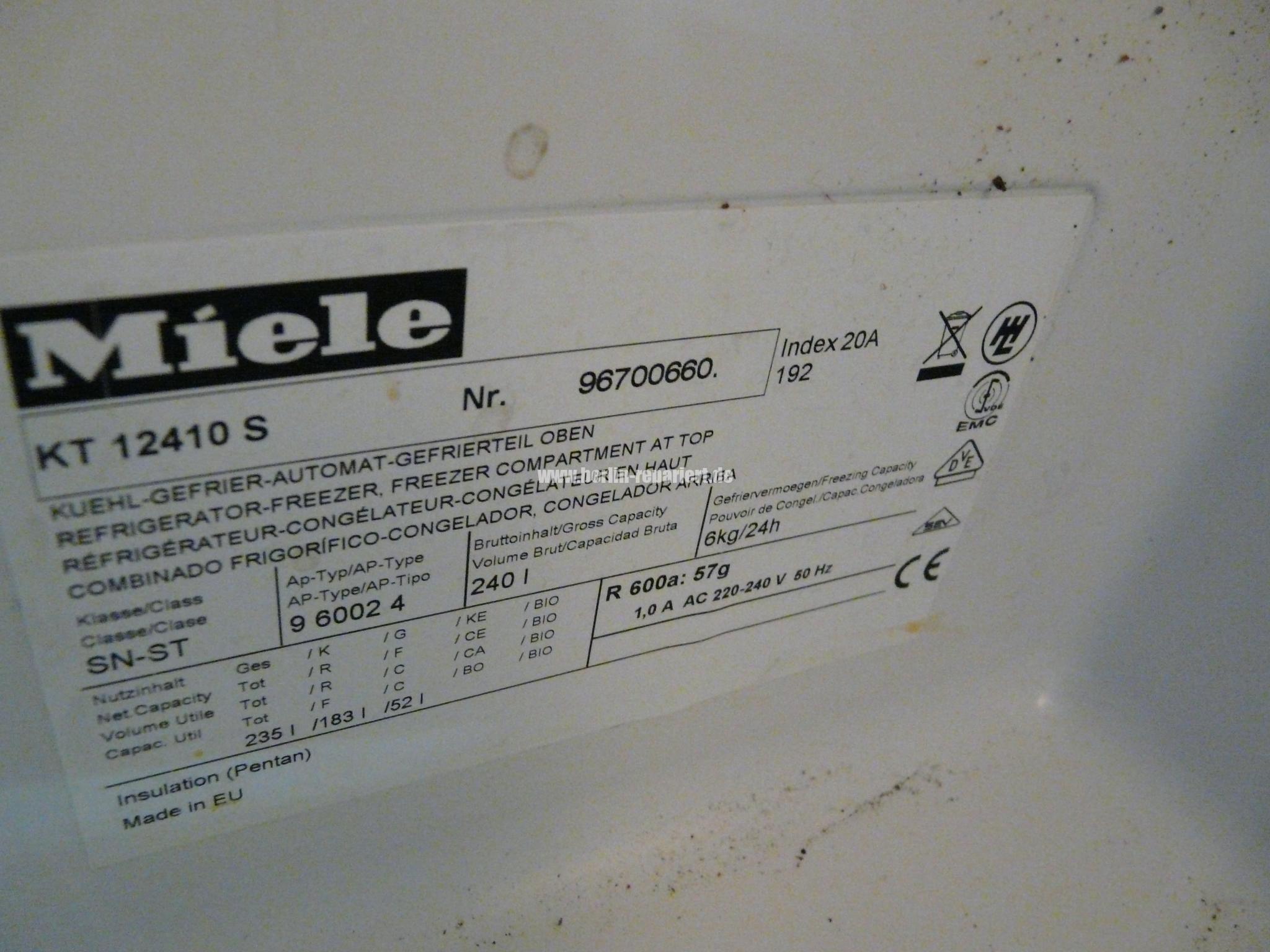 Bosch Kühlschrank Lampe Geht Nicht Aus : Miele kt 12410s kühlt nicht die lampe geht nicht aus soll entsorgt