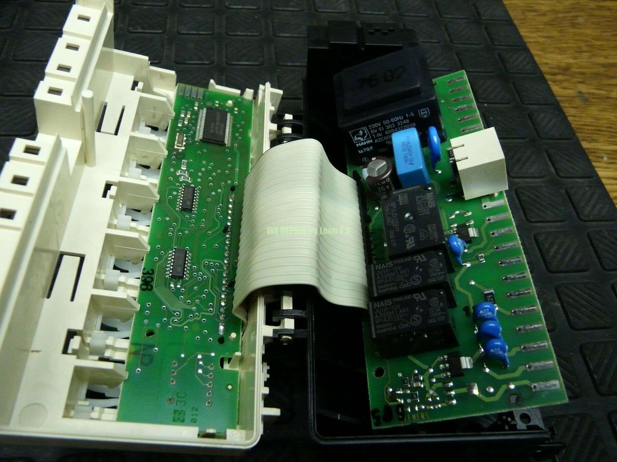 Geschirrspüler Elektronik Bosch Siemens 5wk57xxx Zieht Kein